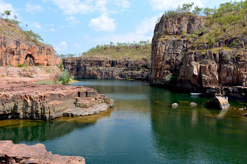 Katherine Gorge rock and water