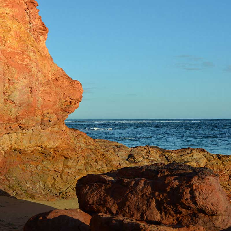 Phillip Island rock profile